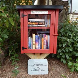 little free library slippery rock